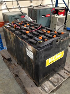 Refurbished Forklift Batteries